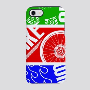 Triathlon TRI Swim Bike Run iPhone 7 Tough Case