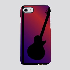Mobile Phone With Guitar iPhone 7 Tough Case