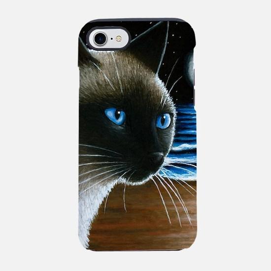 Cat 396 siamese iPhone 7 Tough Case