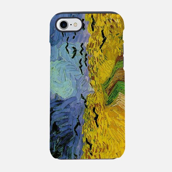 Van Gogh Wheat Field with Crow iPhone 7 Tough Case