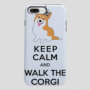 Funny Corgi Keep Calm iPhone 7 Plus Tough Case