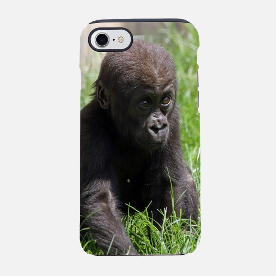 Gorilla-Baby002 iPhone 7 Tough Case