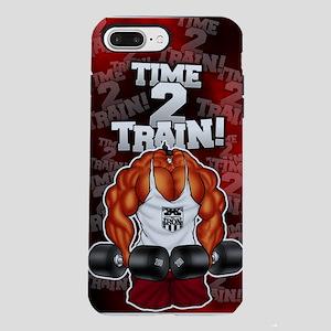 MUSCLEHEDZ TIME 2 TRAIN! iPhone 7 Plus Tough Case