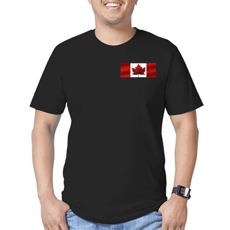 Canada Men's Fitted T-Shirt (dark)