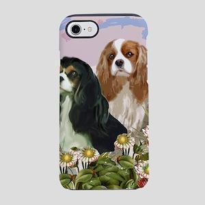 cavaliers in the garden iPhone 7 Tough Case