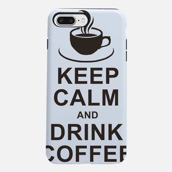 Calm and Caffeinated  iPhone 7 Plus Tough Case