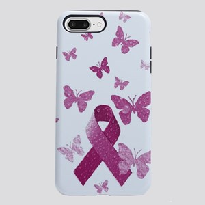 Pink Awareness Ribbon  iPhone 7 Plus Tough Case
