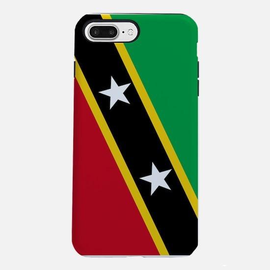Saint Kitts and Nevis Fla iPhone 7 Plus Tough Case