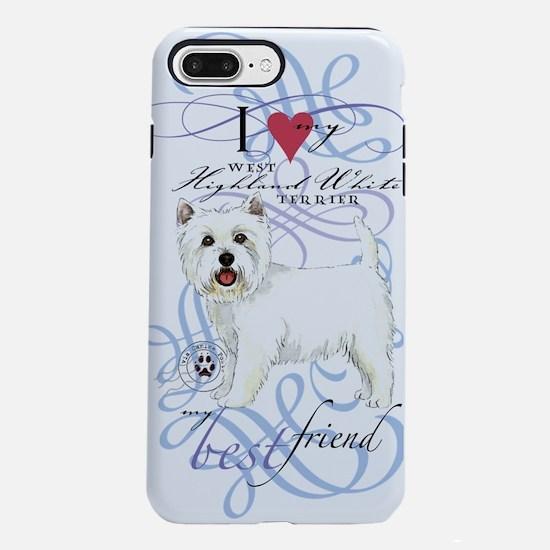 west highland white terri iPhone 7 Plus Tough Case