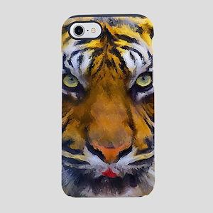 Tiger Portrait iPhone 7 Tough Case