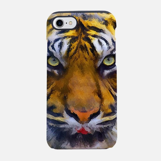 Tiger Portrait iPhone 7 Tough Case