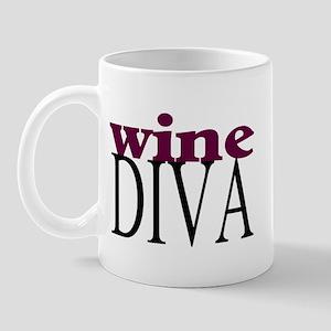 Wine Diva Mug