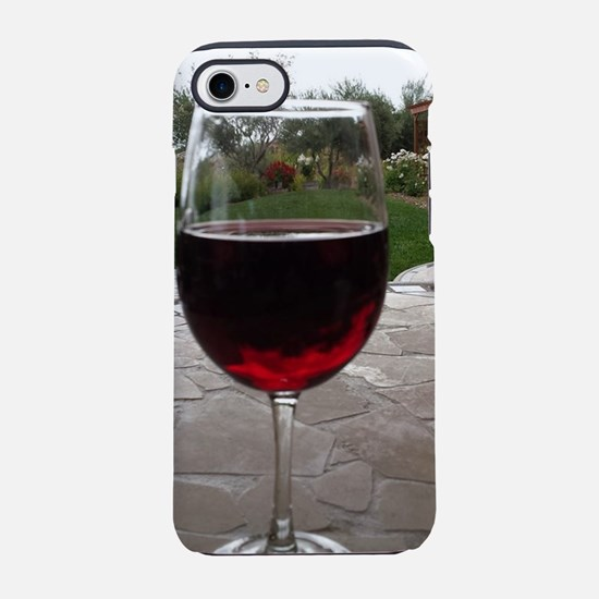 A Glass of Wine iPhone 7 Tough Case