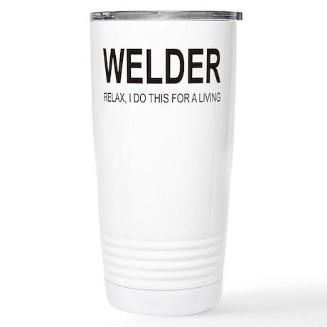 Welder Stainless Steel Travel Mug
