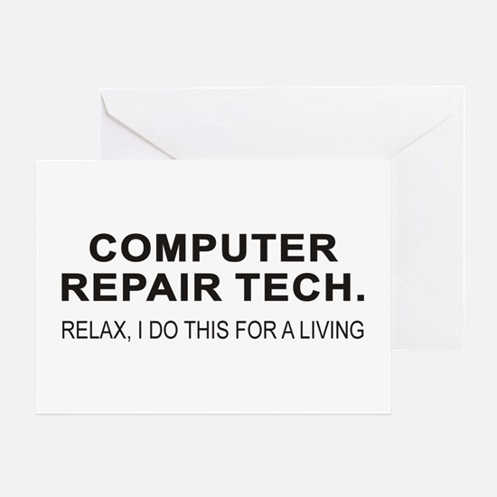 Computer Tech Greeting Card
