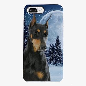 Winter Doberman iPhone 7 Plus Tough Case