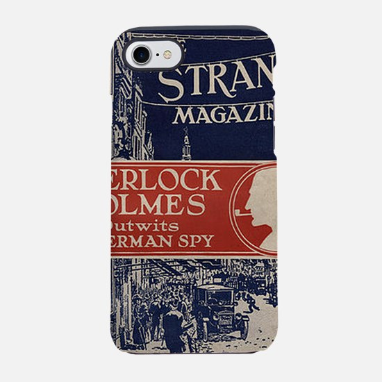 sherlock holmes cover art iPhone 7 Tough Case