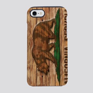 Vintage California Republic Fl iPhone 7 Tough Case