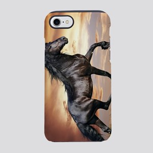 Beautiful Black Horse iPhone 7 Tough Case