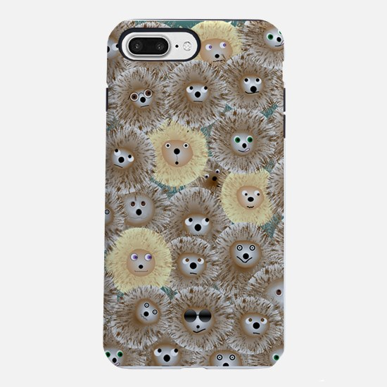 Hedgehog Party iPhone 7 Plus Tough Case