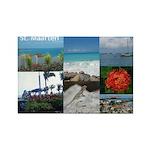 Sint Maarten Photo Rectangle Magnet