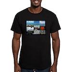 Sint Maarten Photo Men's Fitted T-Shirt (dark)