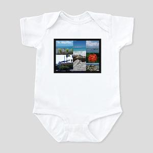 Sint Maarten Photo Baby Light Bodysuit