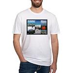 Sint Maarten Photo Fitted T-Shirt