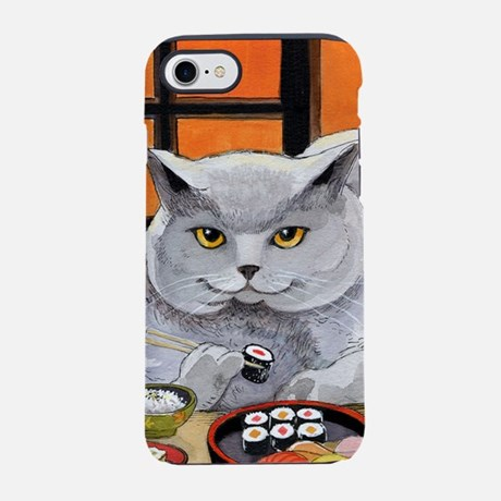 Sushi Cat iPhone 7 Tough Case
