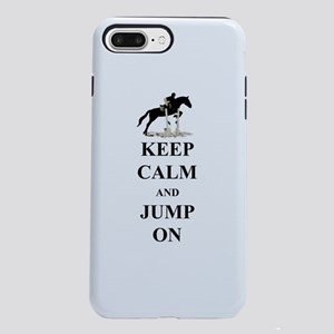 Keep Calm and Jump On Hor iPhone 7 Plus Tough Case