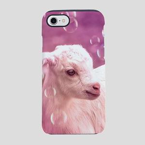 Baby Goat Whitey iPhone 7 Tough Case