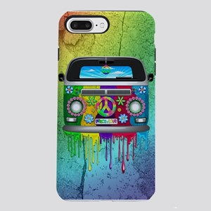 Hippie Van Dripping Rainb iPhone 7 Plus Tough Case