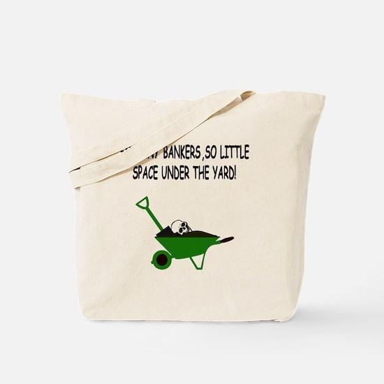 Anti bankers Tote Bag