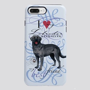 black lab iPhone 7 Plus Tough Case
