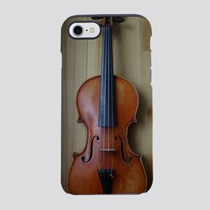 Violinoverwoodfloor iPhone 7 Tough Case