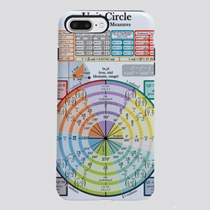 Unit Circle (with Radians iPhone 7 Plus Tough Case