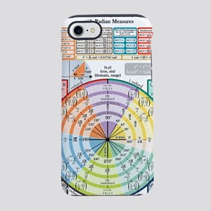 Unit Circle (with Radians) iPhone 7 Tough Case