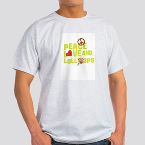 Peace love & lollipops t-shir Light T-Shirt