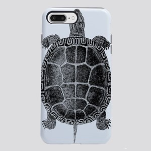 Vintage Turtle iPhone 7 Plus Tough Case
