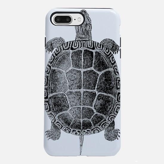 Vintage Turtle iPhone 7 Plus Tough Case