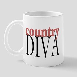 Country Diva Mug