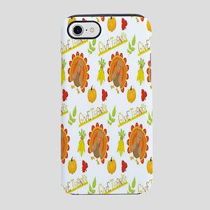 Thanksgiving Turkeys iPhone 7 Tough Case