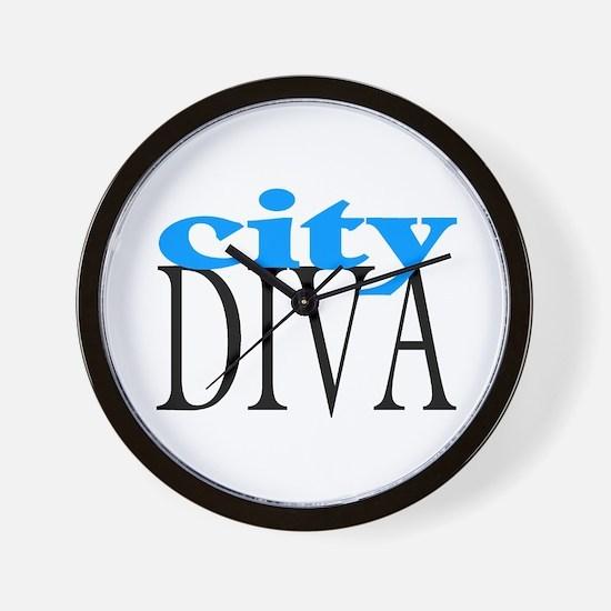 City Diva Wall Clock