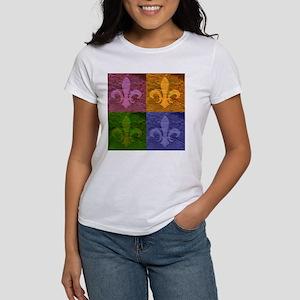 Fleur De Lis Art - Women's T-Shirt