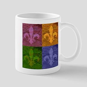Fleur De Lis Art - Mug