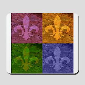 Fleur De Lis Art - Mousepad