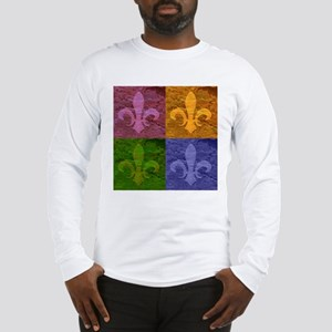Fleur De Lis Art - Long Sleeve T-Shirt