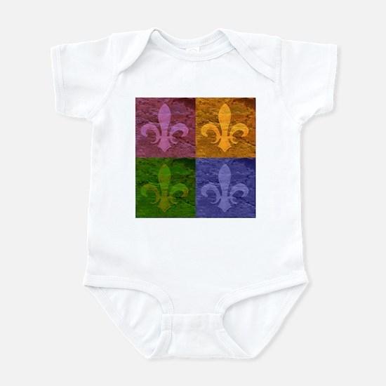 Fleur De Lis Art - Infant Bodysuit