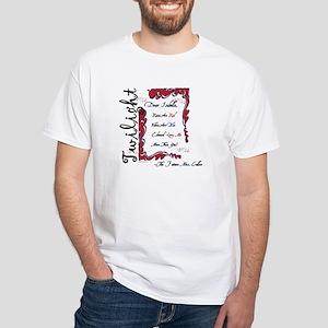 Twilight Dear Isabella White T-Shirt