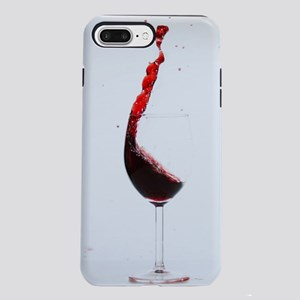 red wine minimalist photo iPhone 7 Plus Tough Case